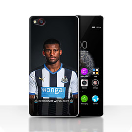 Official Newcastle United FC Case/Cover for ZTE Nubia Z9/Wijnaldum Design/NUFC Football Player 15/16 Mobile phones
