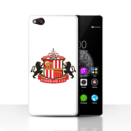 Official Sunderland AFC Case/Cover for ZTE Nubia Z9/White Design/SAFC Football Club Crest Mobile phones