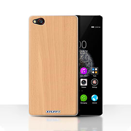 STUFF4 Case/Cover for ZTE Nubia Z9 / Beech Design / Wood Grain Effect/Pattern Collection Mobile phones