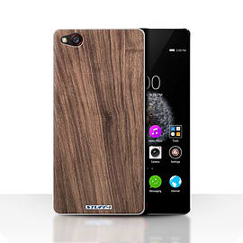 STUFF4 Case/Cover for ZTE Nubia Z9 / Walnut Design / Wood Grain Effect/Pattern Collection Mobile phones