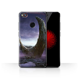 Official Chris Cold Case/Cover for ZTE Nubia Z11 Mini/Broken Moon Design/Alien World Cosmos Mobile phones