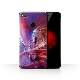 Official Chris Cold Case/Cover for ZTE Nubia Z11 Mini/Space Girl Design/Alien World Cosmos Mobile phones