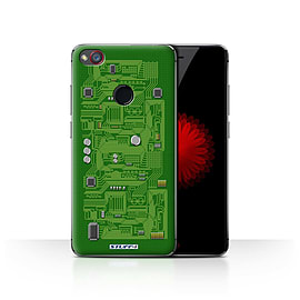 STUFF4 Case/Cover for ZTE Nubia Z11 Mini / Green Design / Circuit Board Collection Mobile phones