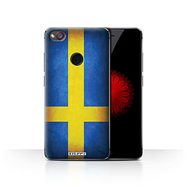 STUFF4 Case/Cover for ZTE Nubia Z11 Mini / Sweden/Swedish Design / Flags Collection Mobile phones