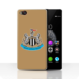 Official Newcastle United FC Case/Cover for ZTE Nubia Z9/Colour/Gold Design/NUFC Football Crest Mobile phones