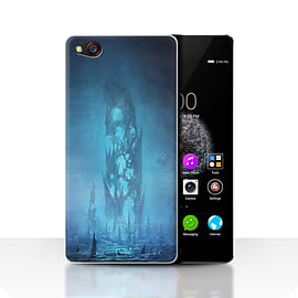 Official Chris Cold Case/Cover for ZTE Nubia Z9 / Remnant Design / Alien World Cosmos Collection Mobile phones
