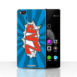 STUFF4 Case/Cover for ZTE Nubia Z9 / Zap Design / Comics/Cartoon Words Collection Mobile phones