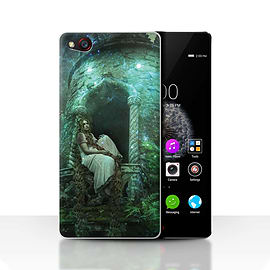 Official Elena Dudina Case/Cover for ZTE Nubia Z9/Golden Hair Design/Fairy Tale Character Mobile phones