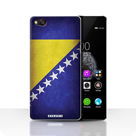 STUFF4 Case/Cover for ZTE Nubia Z9 / Bosnia & Herzegovina Design / Flags Collection Mobile phones