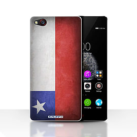 STUFF4 Case/Cover for ZTE Nubia Z9 / Chile/Chiliean Design / Flags Collection Mobile phones