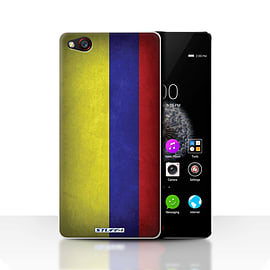 STUFF4 Case/Cover for ZTE Nubia Z9 / Columbia/Columbian Design / Flags Collection Mobile phones