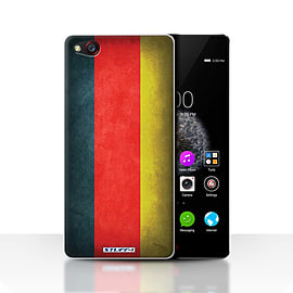 STUFF4 Case/Cover for ZTE Nubia Z9 / Germany/German Design / Flags Collection Mobile phones