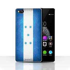 STUFF4 Case/Cover for ZTE Nubia Z9 / Honduras/Honduran Design / Flags Collection Mobile phones