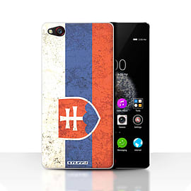 STUFF4 Case/Cover for ZTE Nubia Z9 / Slovakia/Slovakian Design / Flags Collection Mobile phones