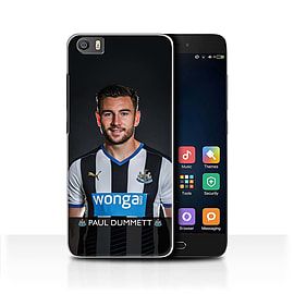 Newcastle United FC Case/Cover for Xiaomi Mi5/Mi 5/Dummett Design/NUFC Football Player 15/16 Mobile phones