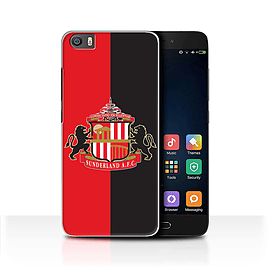 Official Sunderland AFC Case/Cover for Xiaomi Mi5/Mi 5/Red/Black Design/SAFC Football Club Crest Mobile phones