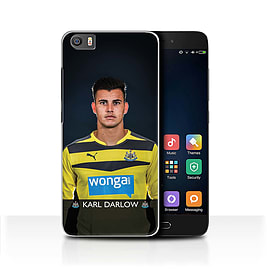 Official Newcastle United FC Case/Cover for Xiaomi Mi5/Mi 5/Darlow Design/NUFC Football Player 15/16 Mobile phones