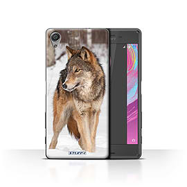 STUFF4 Case/Cover for Sony Xperia X Performance / Wolf Design / Wildlife Animals Collection Mobile phones