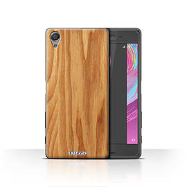 STUFF4 Case/Cover for Sony Xperia X / Oak Design / Wood Grain Effect/Pattern Collection Mobile phones