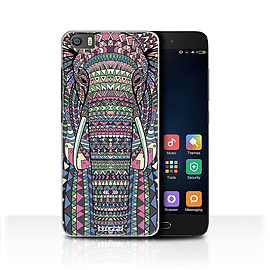 STUFF4 Case/Cover for Xiaomi Mi5/Mi 5 / Elephant-Colour Design / Aztec Animal Design Collection Mobile phones