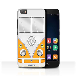 STUFF4 Case/Cover for Xiaomi Mi5/Mi 5 / Orange Design / VW Camper Van Collection Mobile phones