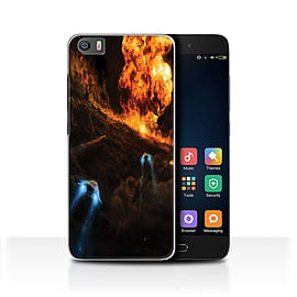 Official Chris Cold Case/Cover for Xiaomi Mi5/Mi 5/Chaos Unleashed Design/Alien World Cosmos Mobile phones