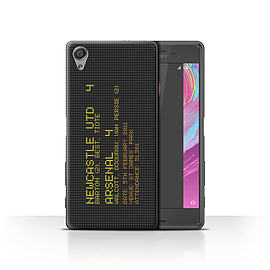 Newcastle United FC Case/Cover for Sony Xperia X Performance/2011 Design/NUFC Famous Football Result Mobile phones