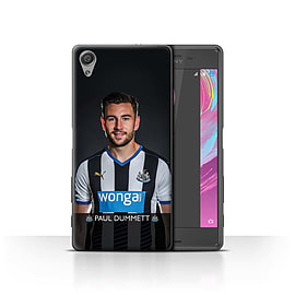 Official NUFC Case/Cover for Sony Xperia X Performance/Dummett Design/NUFC Football Player 15/16 Mobile phones