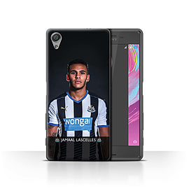 Official NUFC Case/Cover for Sony Xperia X Performance/Lascelles Design/NUFC Football Player 15/16 Mobile phones