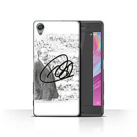Newcastle United FC Case/Cover for Sony Xperia X Performance/Autograph Design/NUFC Rafa Ben?tez Mobile phones