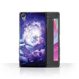 Elena Dudina Case/Cover for Sony Xperia X Performance/Frozen Heart Design/Fairy Tale Character Mobile phones