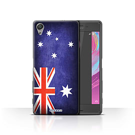 STUFF4 Case/Cover for Sony Xperia X Performance / Australia/Australian Design / Flags Collection Mobile phones