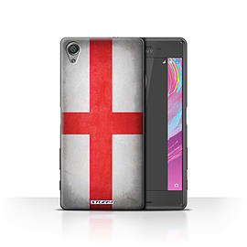 STUFF4 Case/Cover for Sony Xperia X Performance / England/English Design / Flags Collection Mobile phones