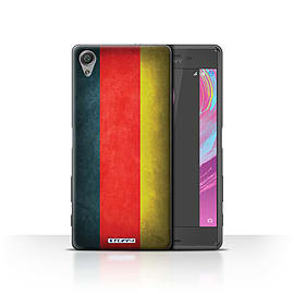 STUFF4 Case/Cover for Sony Xperia X Performance / Germany/German Design / Flags Collection Mobile phones