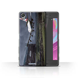 STUFF4 Case/Cover for Sony Xperia X / Rough Landing Design / Imagine It Collection Mobile phones