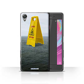 STUFF4 Case/Cover for Sony Xperia X / Wet Floor Design / Imagine It Collection Mobile phones