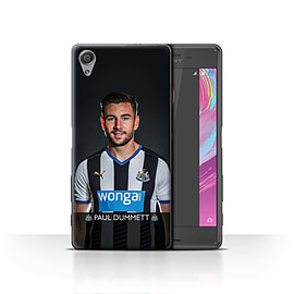 Official Newcastle United FC Case/Cover for Sony Xperia X/Dummett Design/NUFC Football Player 15/16 Mobile phones