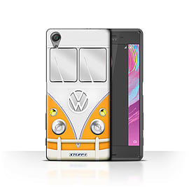STUFF4 Case/Cover for Sony Xperia X Performance / Orange Design / VW Camper Van Collection Mobile phones