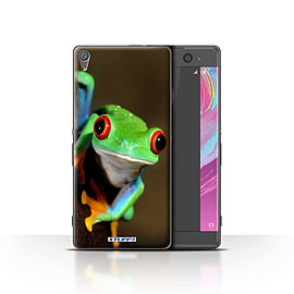 STUFF4 Case/Cover for Sony Xperia XA / Frog Design / Wildlife Animals Collection Mobile phones