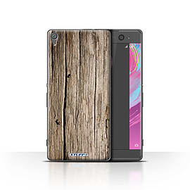 STUFF4 Case/Cover for Sony Xperia XA / Driftwood Design / Wood Grain Effect/Pattern Collection Mobile phones