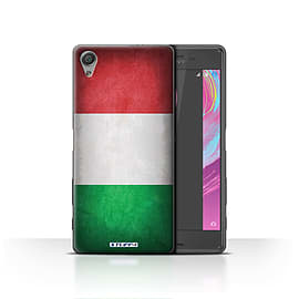STUFF4 Case/Cover for Sony Xperia X / Italy/Italian Design / Flags Collection Mobile phones