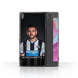 Official Newcastle United FC Case/Cover for Sony Xperia XA/Dummett Design/NUFC Football Player 15/16 Mobile phones