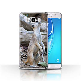STUFF4 Case/Cover for Samsung Galaxy J5 2016 / Meerkat Design / Wildlife Animals Collection Mobile phones