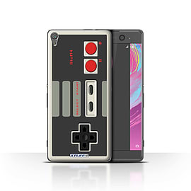 STUFF4 Case/Cover for Sony Xperia XA / Nintendo Classic Design / Games Console Collection Mobile phones