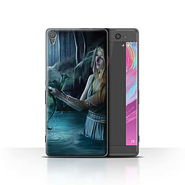 Official Elena Dudina Case/Cover for Sony Xperia XA / Water/Baby Design / Dragon Reptile Collection Mobile phones