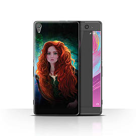 Official Elena Dudina Case/Cover for Sony Xperia XA/Princess Design/Fairy Tale Character Mobile phones