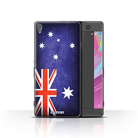 STUFF4 Case/Cover for Sony Xperia XA / Australia/Australian Design / Flags Collection Mobile phones