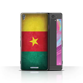 STUFF4 Case/Cover for Sony Xperia XA / Cameroon/Cameroonian Design / Flags Collection Mobile phones