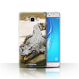STUFF4 Case/Cover for Samsung Galaxy J5 2016 / Crocodile Design / Wildlife Animals Collection Mobile phones