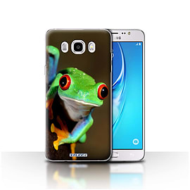 STUFF4 Case/Cover for Samsung Galaxy J5 2016 / Frog Design / Wildlife Animals Collection Mobile phones